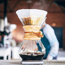 Load image into Gallery viewer, Chemex Classic Series, Pour-over Glass Coffeemaker, 8-Cup - Exclusive Packaging