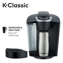 Load image into Gallery viewer, Keurig K-Classic Coffee Maker K-Cup Pod, Single Serve, Programmable, Black