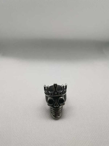 Biker Ring Crown Skull