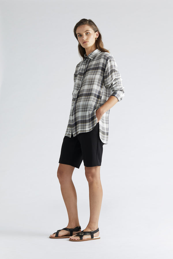 Manny Tailored Short - Black