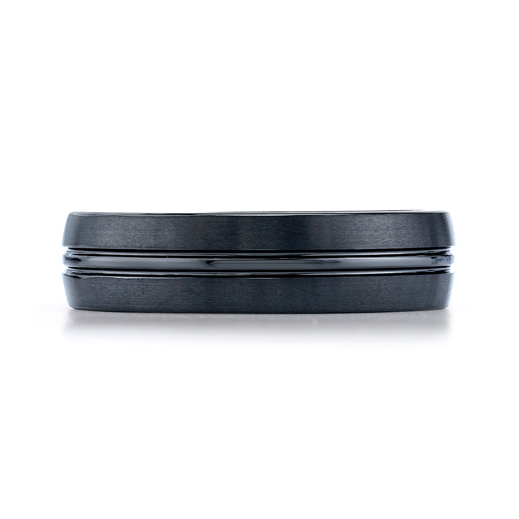 Benchmark 6mm Ceramic Men's Band