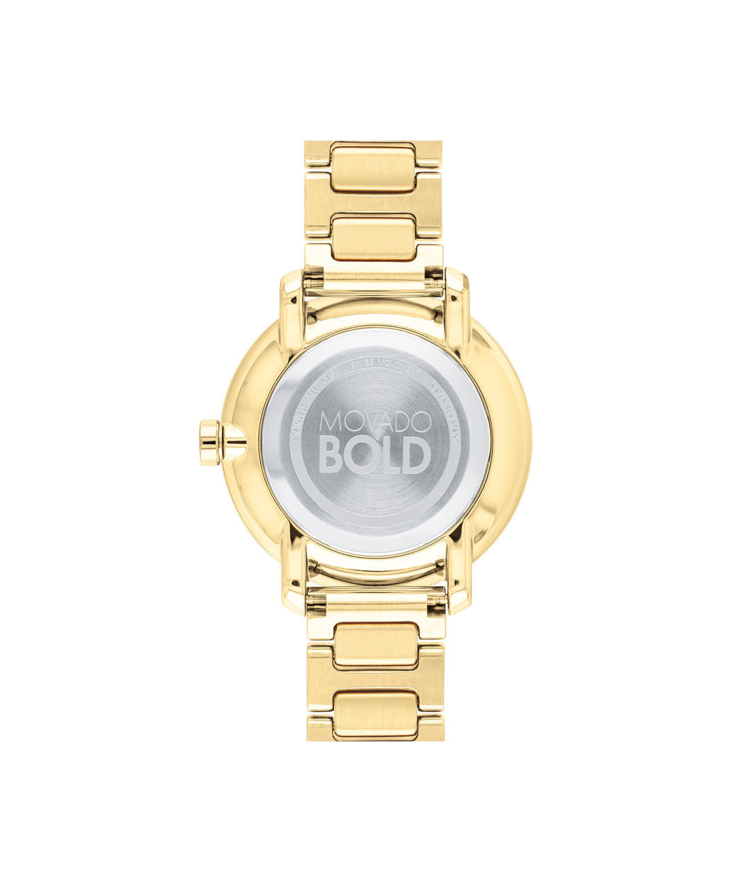 Movado Bold Mid-Size Yellow gold ion-plated Women's Watch