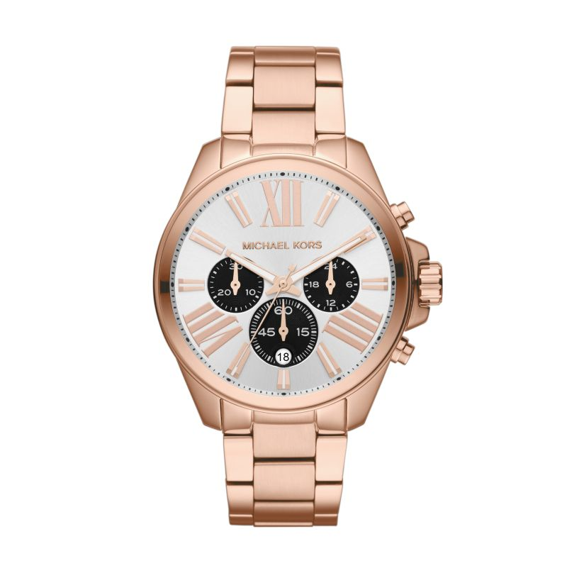 Michael Kors Unisex Rose Tone Wren Watch
