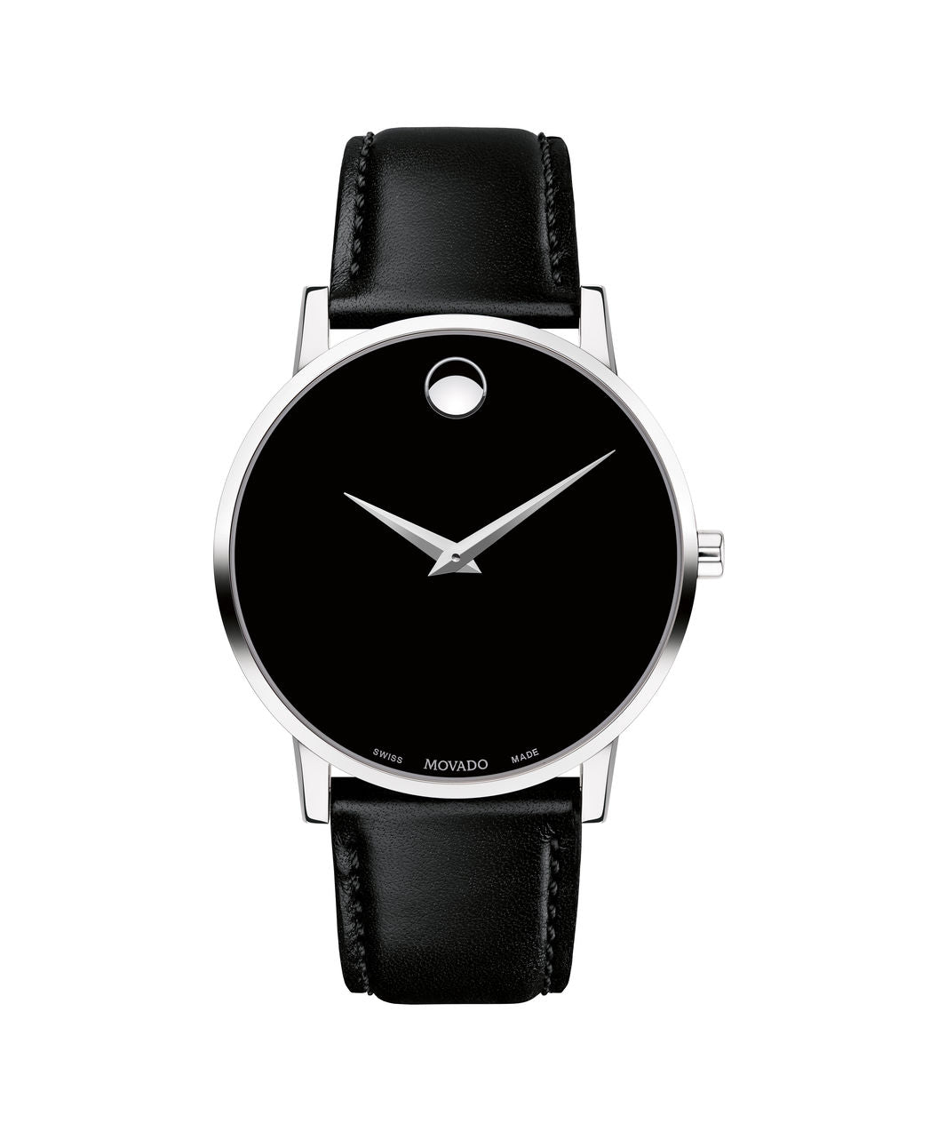 Movado Museum Classic Men's With Black Leather