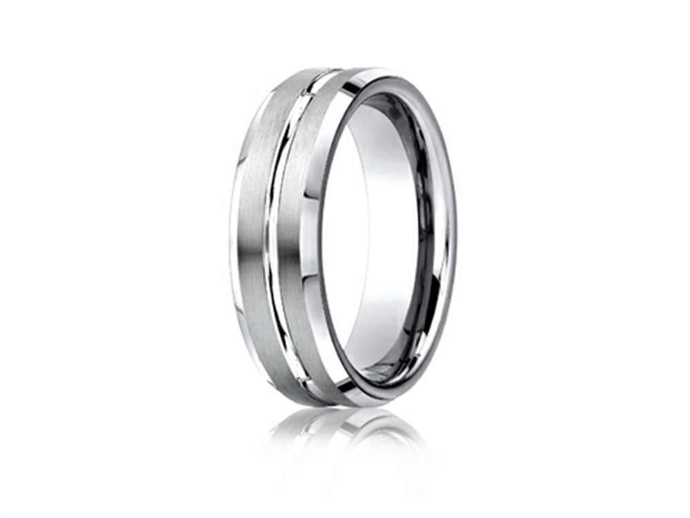 Benchmark Cobalt Chrome 7mm Men's Band