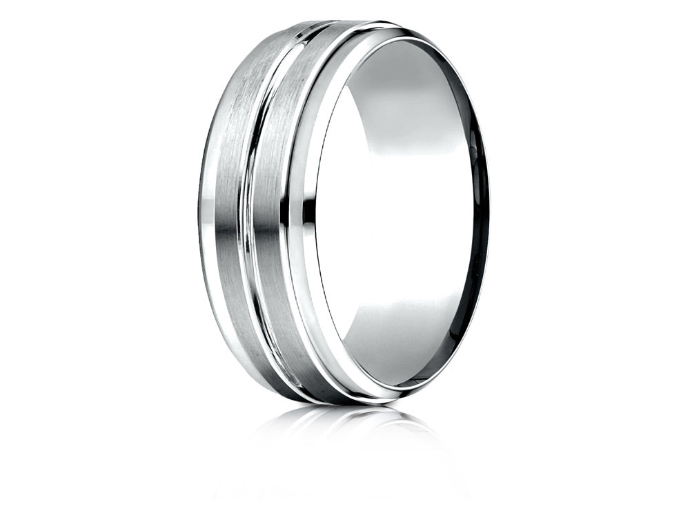 Benchmark 8mm Drop Bevel Men's band