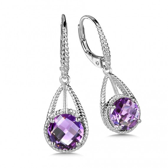 Color SG - Amethyst Earrings