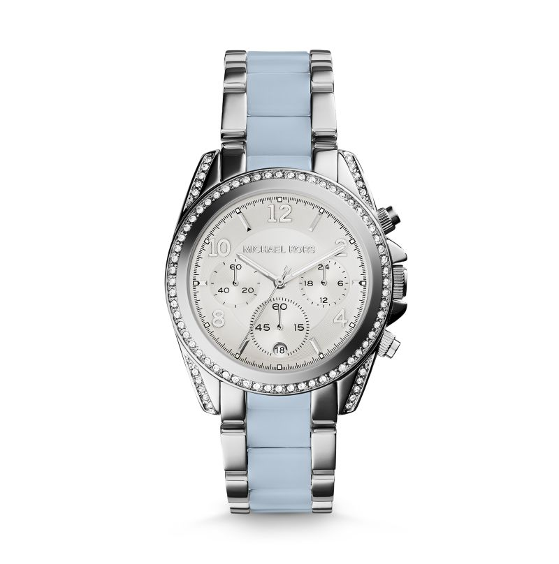 Michael Kors Silver-Tone Blair Women's Watch