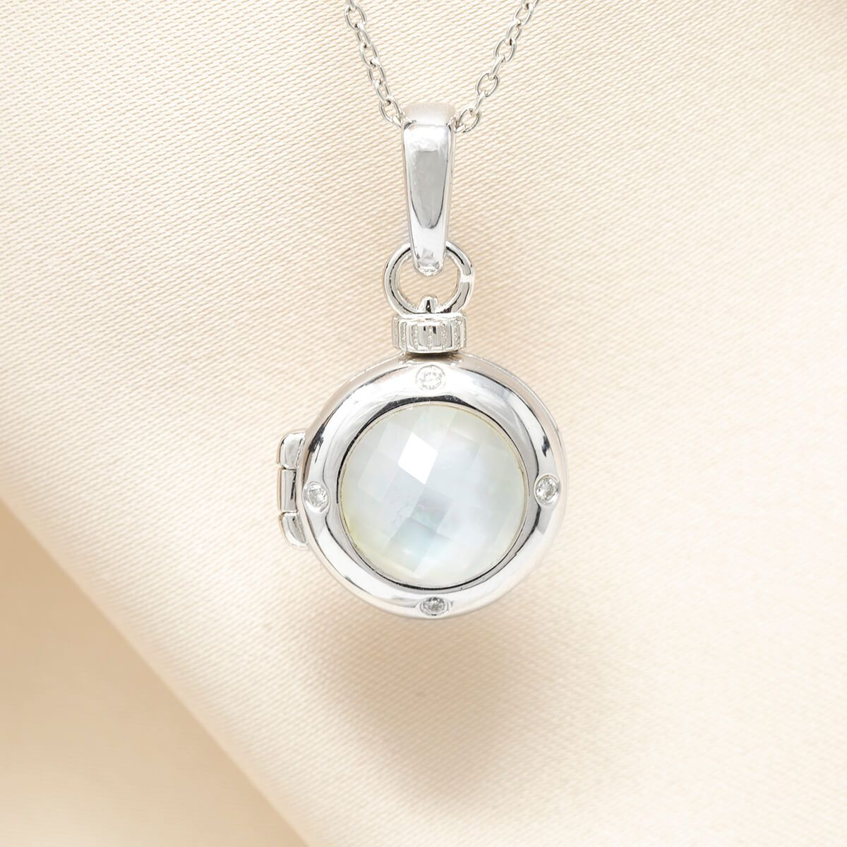 Shelly Petite Locket Necklace