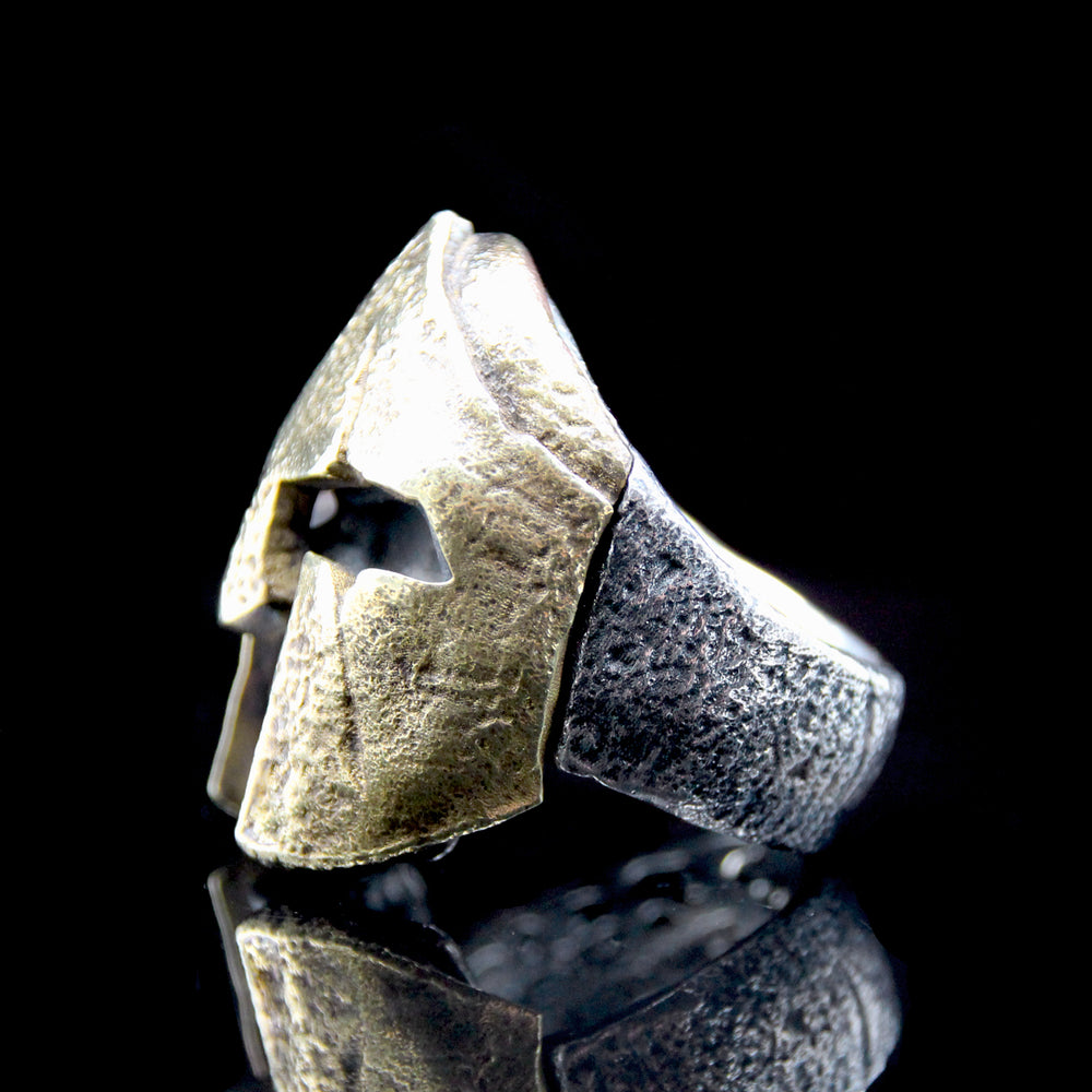 The Spartan 2 Skull Ring