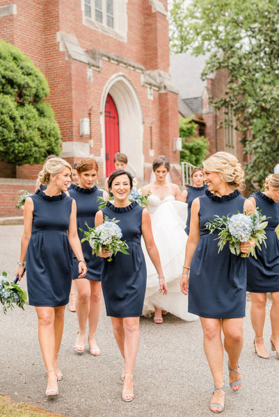 Elizabeth Walsh's Bridesmaids in the Go Go Dress in Navy