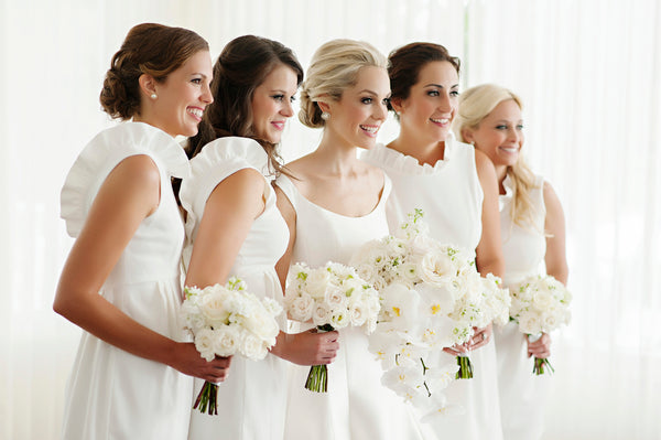 Annes Bridal Party in the Go Go Dress in Ivory