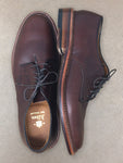 ALDEN Plain Toe Brown Blucher