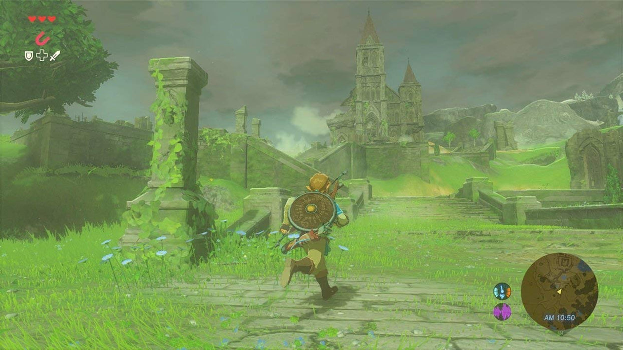 The Legend of Zelda: Breath of the Wild (SWITCH) - Game X Change