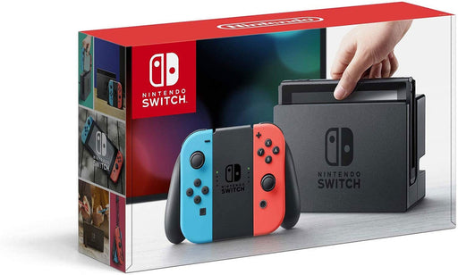 Nintendo Switch – Neon Red and Neon Blue Joy-Con - Game X Change