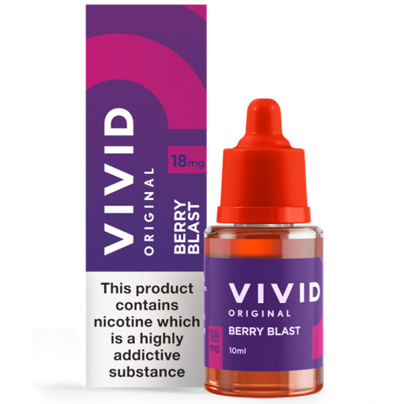 Vivid Original Berry Blast E-Liquid