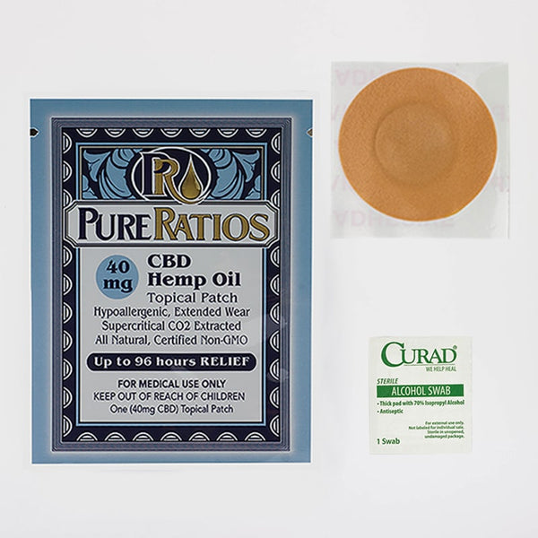 Soothing CBD Topical Patch