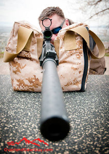 Rifle Shooter Bean Bag by Overland Gear Guy