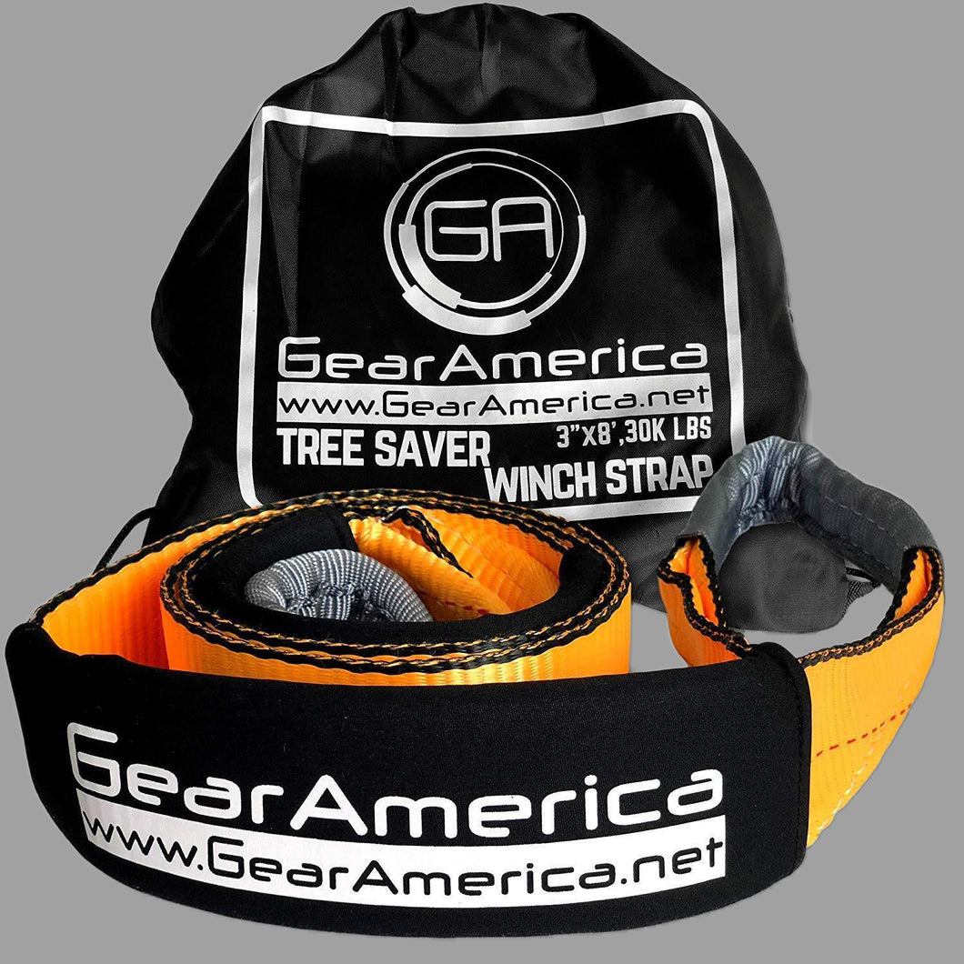 Gear America Heavy Duty Tree Saver Winch Strap 3