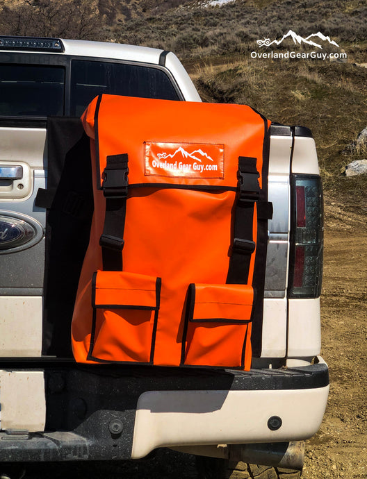 Truck Tailgate Trash Storage Bag by Overland Gear Guy - Truck Tail gate backpack