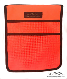 Roof Top Tent Orange Storage Bag by Overland Gear Guy