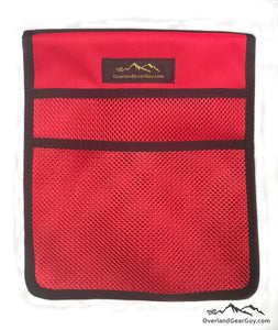 Roof Top Tent Red Storage Bag by Overland Gear Guy