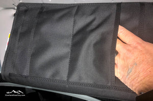 Sprinter Sun Visor Pouch by Overland Gear Guy Back View