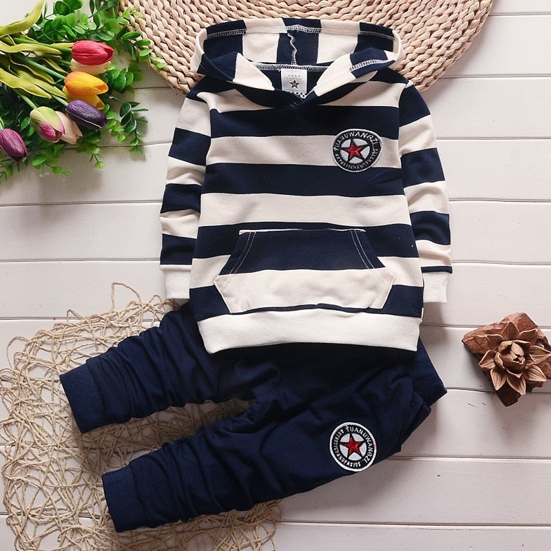 Casual Cotton Outfit - Hoodie & Pant