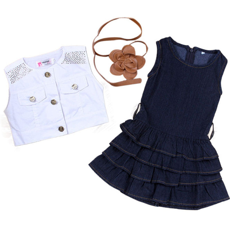 Stylish Summer Girls Outfit Set
