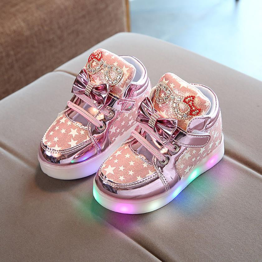 Glowing Sneakers Girl Boots (3 colors)