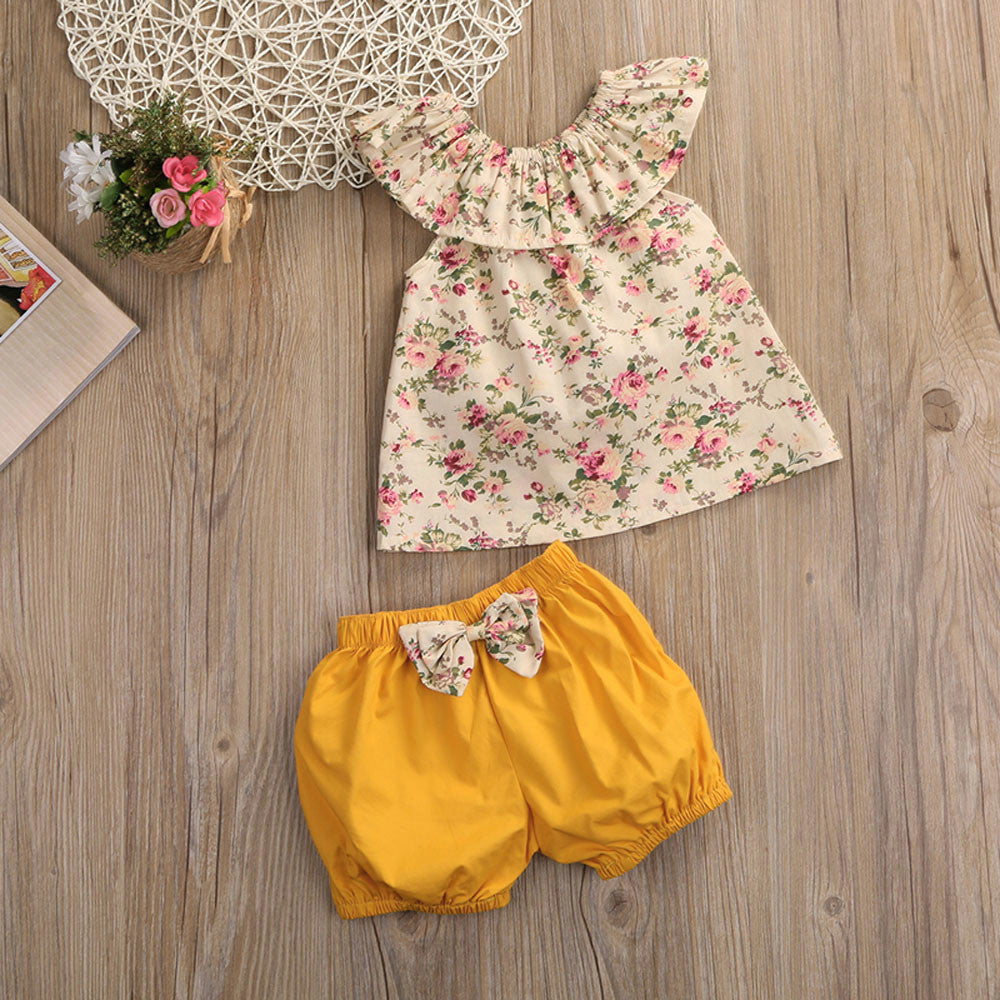 Summer Casual Baby Girls Outfit