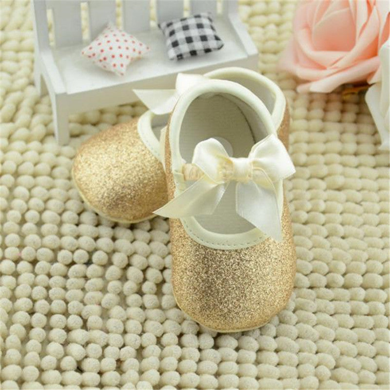 Glitter Baby Girls Shoes (2 colors)