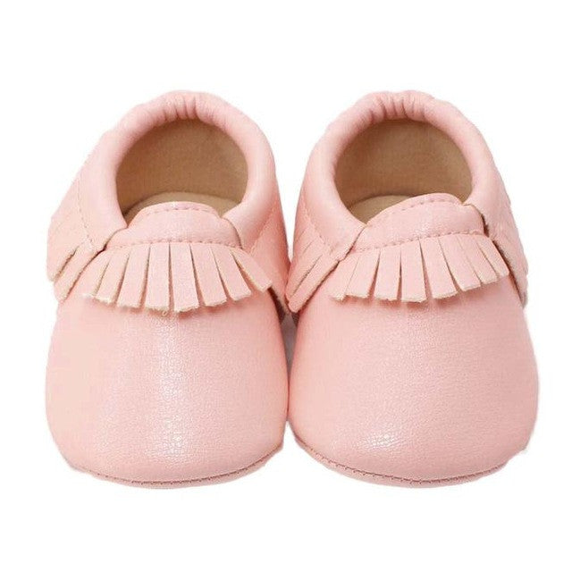 Moccasin Baby Girls Shoes (5 colors)