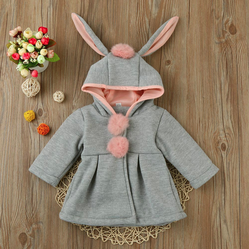 Bags Bunny Baby Girls Jacket