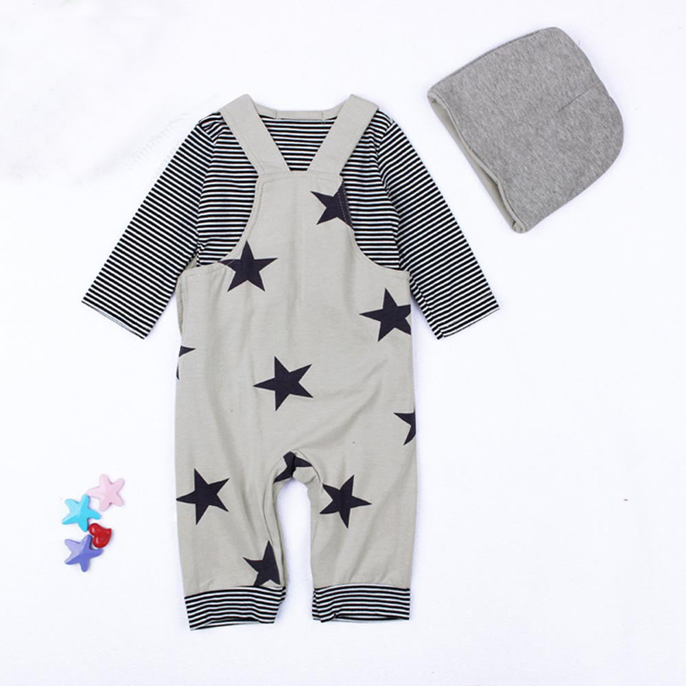 Stars Baby Boys Outfit set