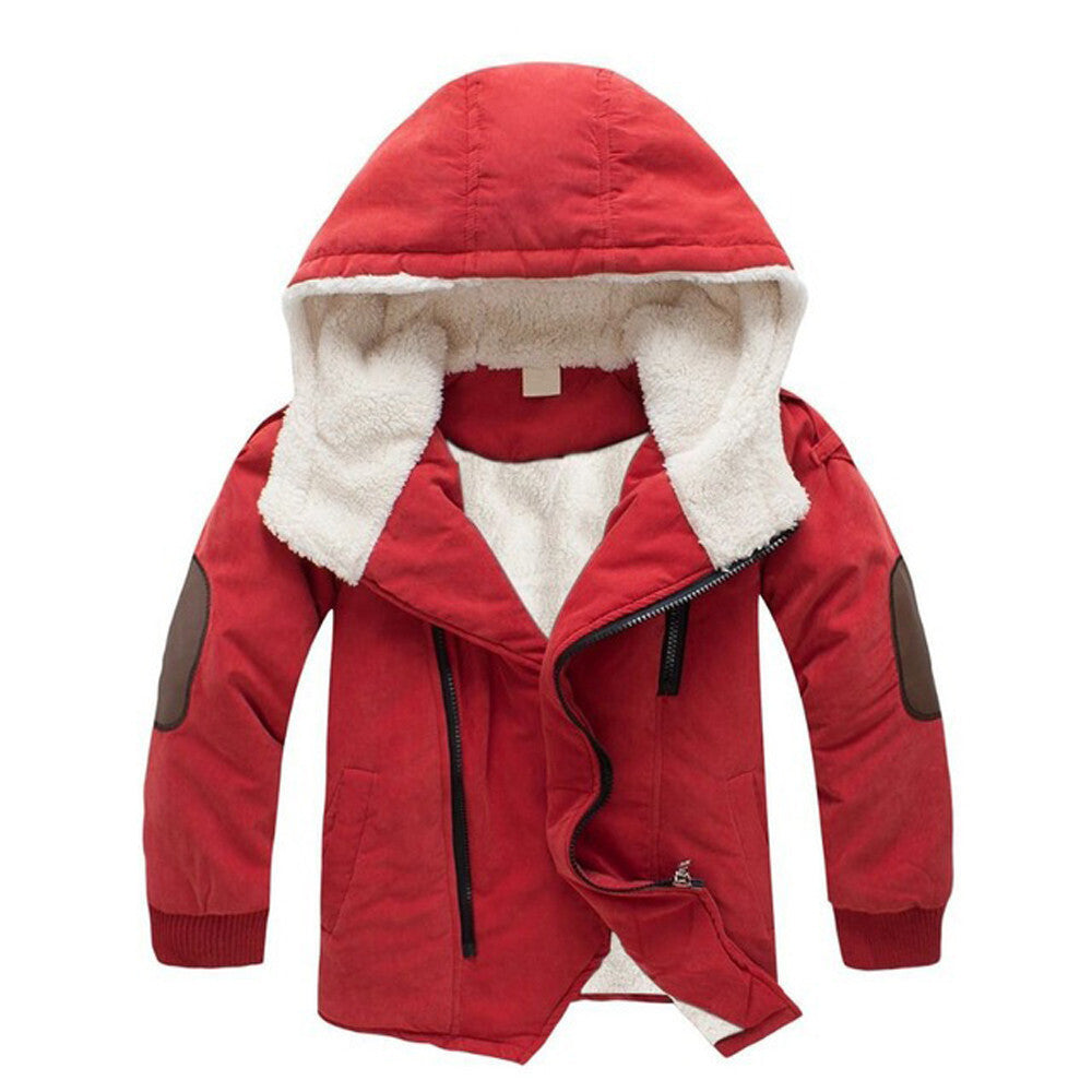 Boys Hooded Jacket (2 colors)