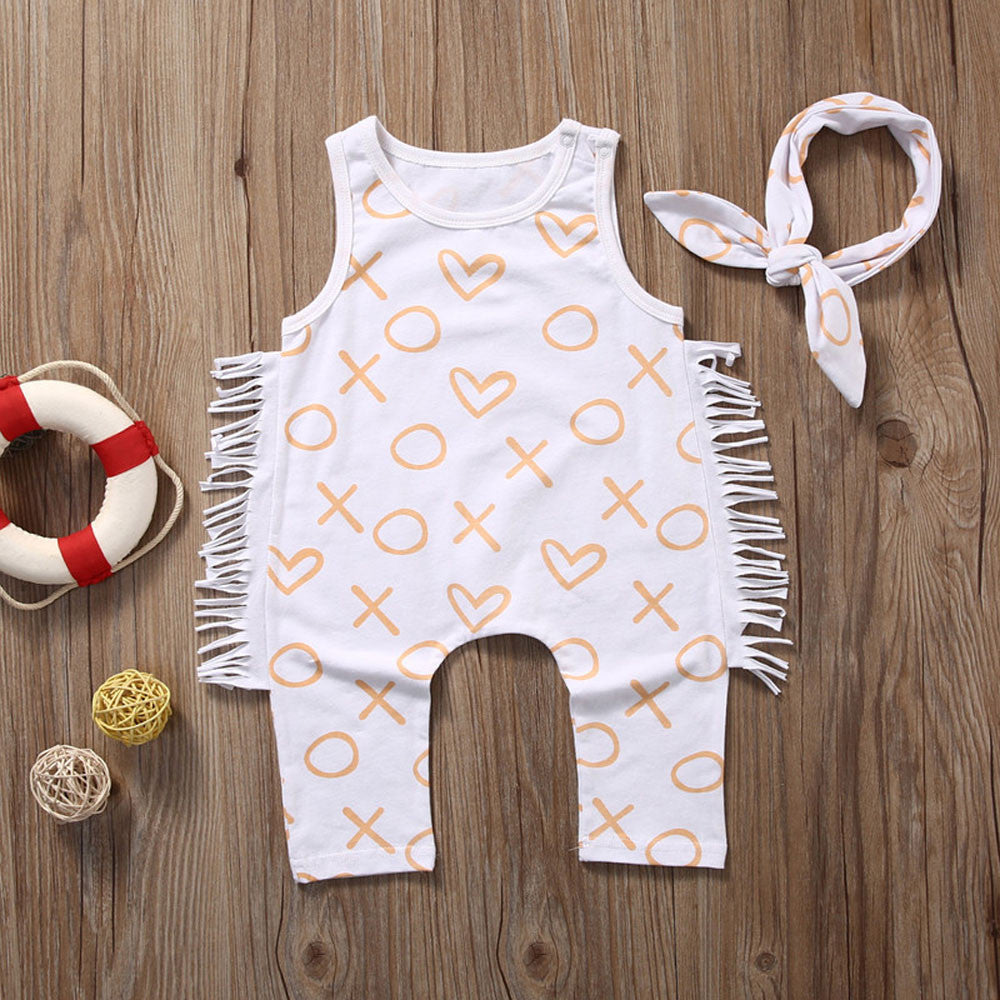 Newborn Unique Baby Girls Bodysuit