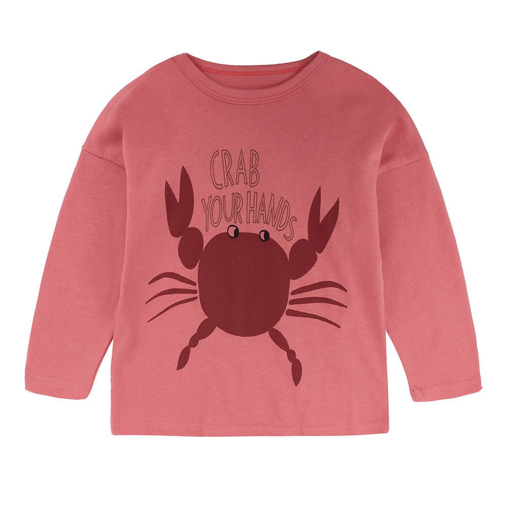 Crab Baby Girls Sweater  (2 Colors)