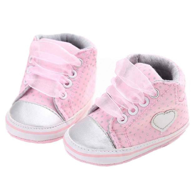 Heart Baby Girls Shoes