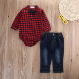 Casual Jean Baby Boys Outfit (2 colors)