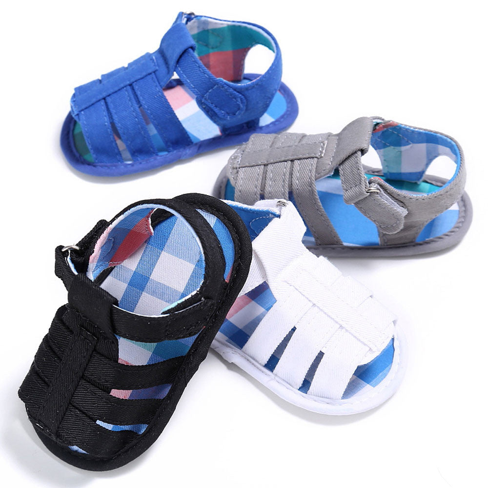 Canvas Style Baby Boys Shoes (4 colors)