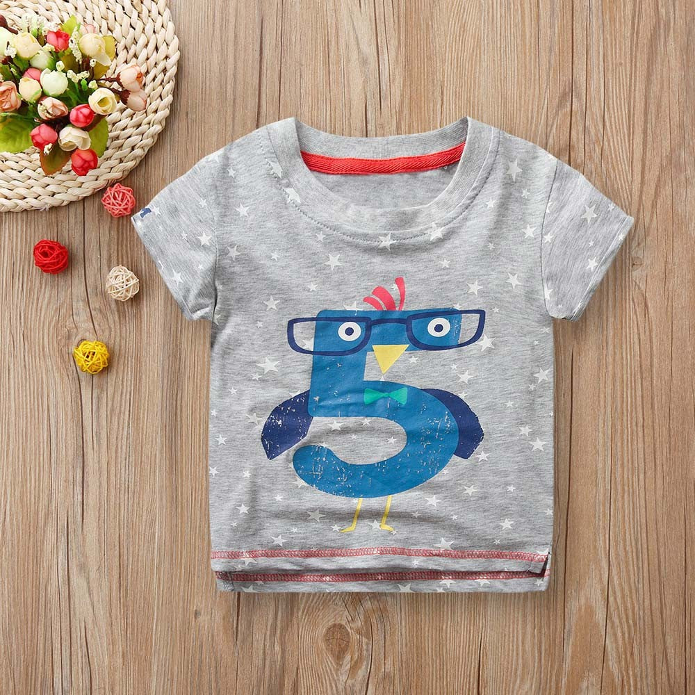 Boys T-shirt Five