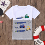 Boys T-shirt Racing