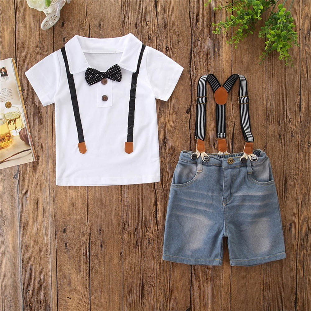 Stylish Bowtie Boys Outfit set