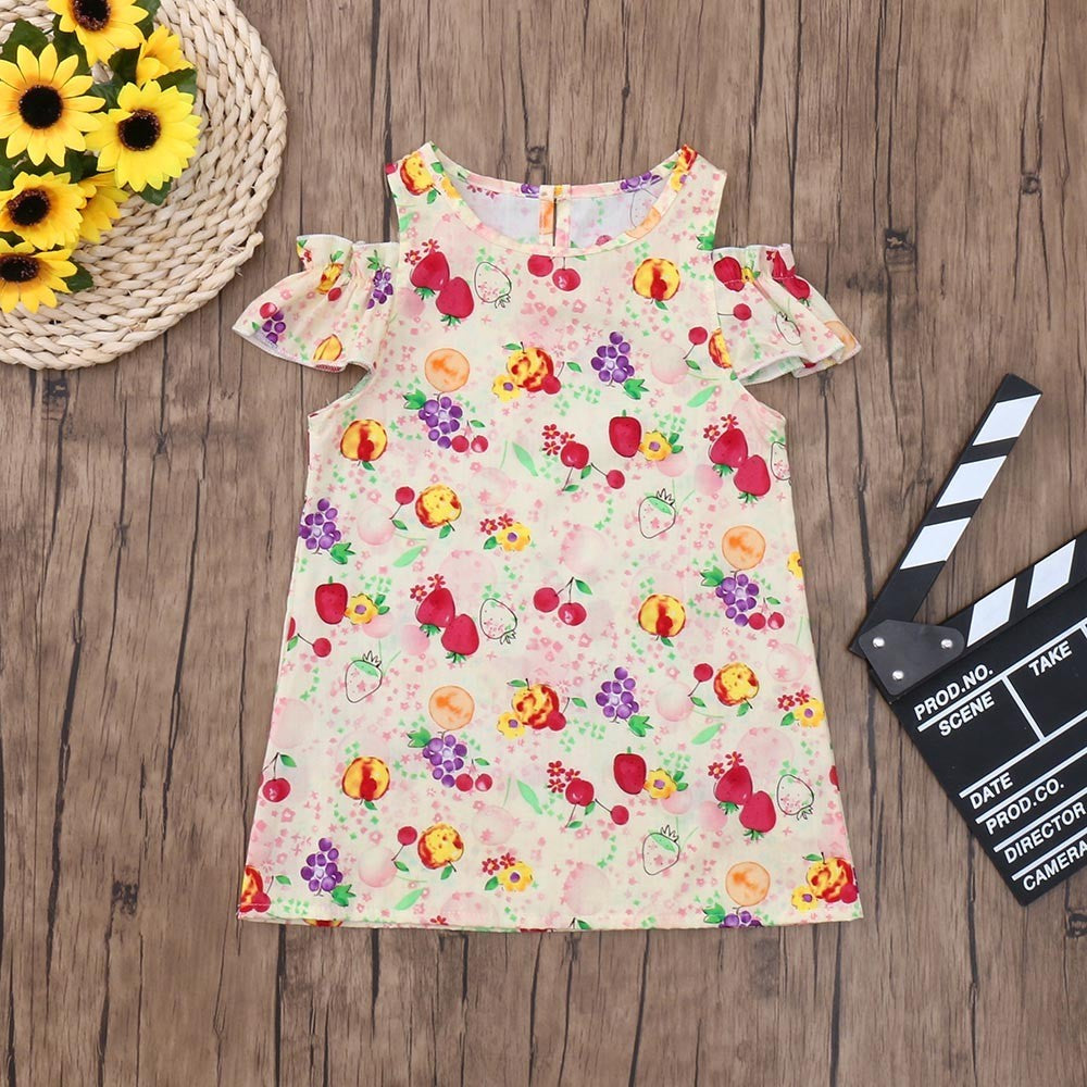 Colorful Baby Girls Dress