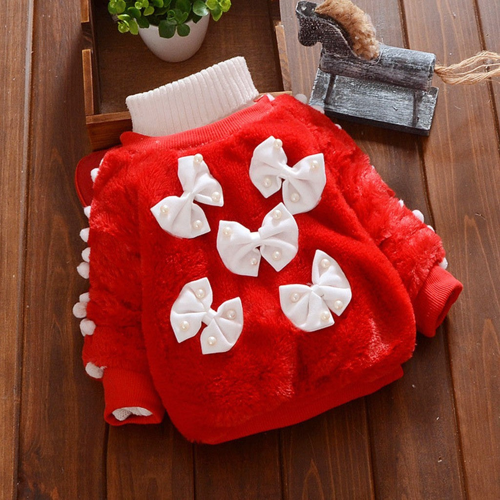 Baby Girls Sweater (4 Colors)