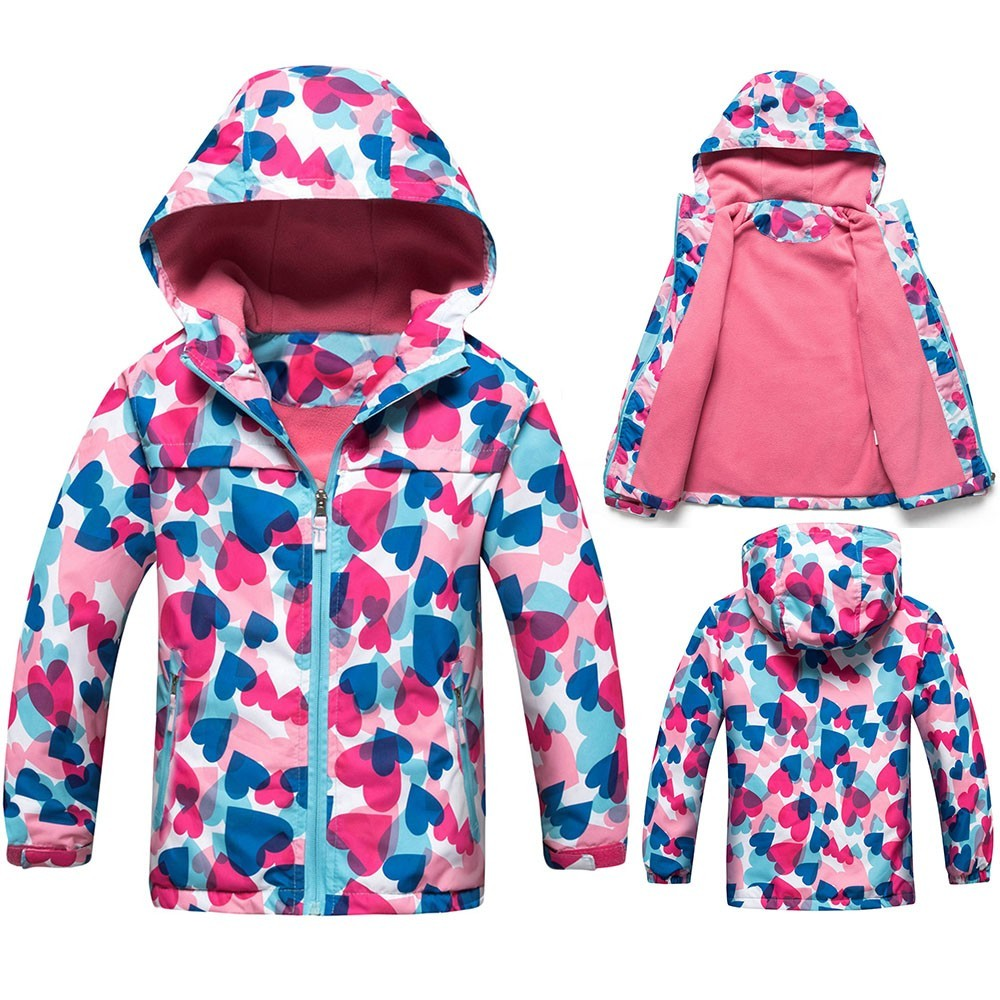 Waterproof Girls Jacket