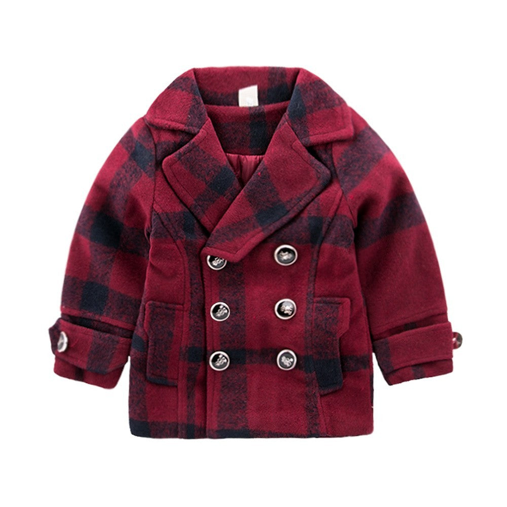 Classic Stylish Baby Girls Jacket  (3 Colors)