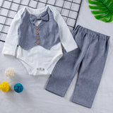 Stylish Gentleman Baby Boys Outfit