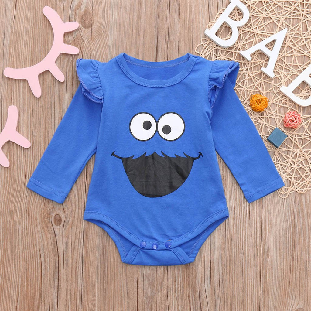 Baby Girl Bodysuit Funny Face